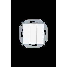Simon 15 Белый Выключатель 3-кл, 10А 250В, винт. зажим | 1591391-030 | Simon