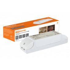 Трансформатор электронный ТЭ-200 220В/12В 70-200Вт | SQ0360-0013 | TDM