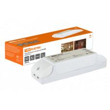 Трансформатор электронный ТЭ-250 220В/12В 80-250Вт | SQ0360-0014 | TDM