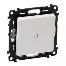 Valena LIFE DIY Белый Выключатель 1-клавишный 10А 250В с индикацией   752104   Legrand