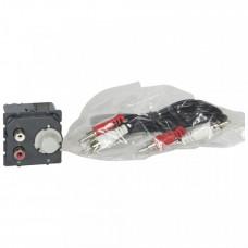 Предусилитель с разъёмом RCA - MyHOME - SCS - 30 Вт - 100/240 В~ | 067301 | Legrand
