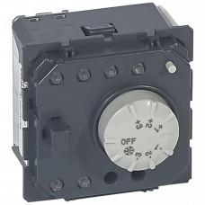Датчик температуры с регулятором и контроллером скоростей фанкойла - MyHOME - SCS | 067455 | Legrand