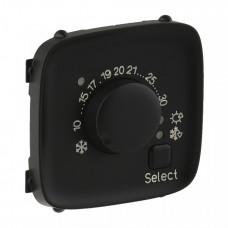 Valena ALLURE Антрацит Накладка термостата комнатного электронного | 755318 | Legrand
