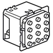 Локальный блок управления сигнализацией - кнопочный - MyHOME - SCS - 8 метров | 067506 | Legrand