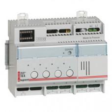 Реле для управления освещением - MyHOME - SCS - 4 переключающих контакта - 16 А | 002602 | Legrand