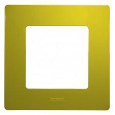 Etika Зеленый Папоротник Рамка 1-ая   672541   Legrand