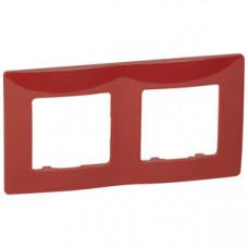Etika Красная Рамка 2-ая   672532   Legrand