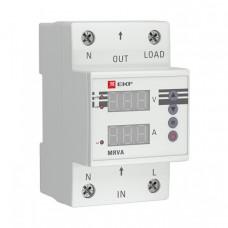 Реле напряжения и тока с дисплеем MRVA 50A EKF PROxima | MRVA-50A | EKF