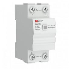 Реле напряжения (сквозное подкл.) RVb-40A EKF Basic | rvb-40a | EKF