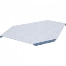 Крышка горизонтального угла 90х200(80/100) | KGL90*200(80/100) | КМ-профиль