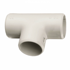 Тройник соединительный для трубы Plast (20мм.) EKF PROxima | tr-t-20 | EKF