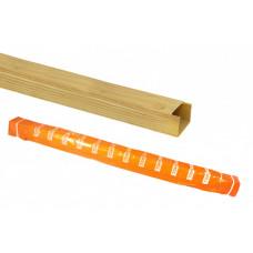 Кабель-канал 16х16 желтая сосна 3D (100м) | SQ0402-0603 | TDM