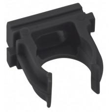 Крепеж-клипса черная d16мм (10шт.) Plast EKF PROxima | derj-z-16b | EKF