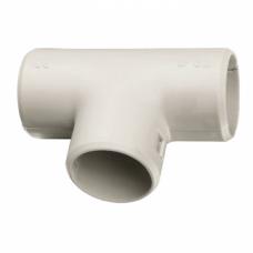 Тройник соединительный для трубы Plast (25мм.) EKF PROxima | tr-t-25 | EKF
