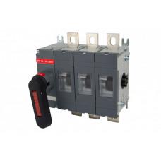 Рубильник ВНК-43-1 3П 1250А с установленной фронтальной ручкой управления | SQ0744-0009 | TDM