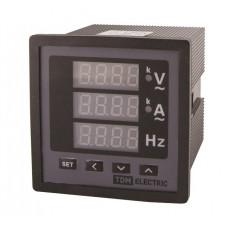 Цифровой многовеличинный прибор ЦП-АВЧ72х3-0,5 (0-50кА, 0-999кВ, 40-70Гц)   SQ1102-0511   TDM
