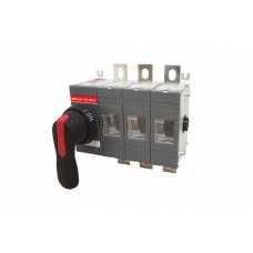 Рубильник ВНК-35-1 3П 160А с установленной фронтальной ручкой управления | SQ0744-0001 | TDM