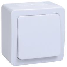 ВС20-1-0-ГПБ выкл 1кл о/у IP54 ГЕРМЕС PLUS (цвет клавиши: белый)   EVMP10-K01-10-54-EC   IEK