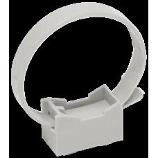 Хомутный держатель со стяжкой серый CFF2 32-63 мм | CTA10MP-CFF263-K41-100 | IEK