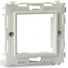Каркас на 2 модуля (одноместный) без лапок. белый. RAL9010 | 75023W | DKC