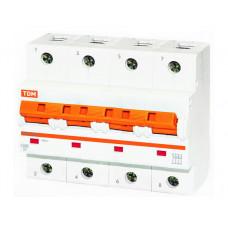 Выключатель автоматический четырехполюсный ВА47-125 80А C 15кА   SQ0208-0094   TDM