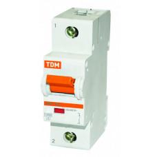 Выключатель автоматический однополюсный ВА47-125 40А D 15кА | SQ0208-0007 | TDM