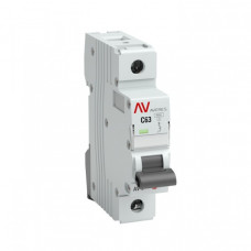 Выключатель автоматический однополюсный AV-6 10А D 6кА AVERES | mcb6-1-10D-av | EKF