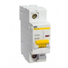 Выключатель автоматический однополюсный ВА47-100 63А C 10кА | MVA40-1-063-C | IEK