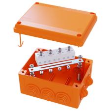 Коробка пластиковая FS с кабельными вводами и клеммниками, IP56,150х110х70мм, 5р, 450V,30A,16мм.кв | FSB21516 | DKC