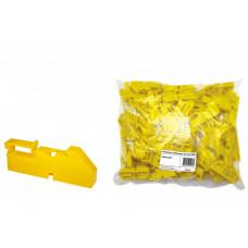 Изолятор на DIN рейку желтый | SQ0810-0001 | TDM