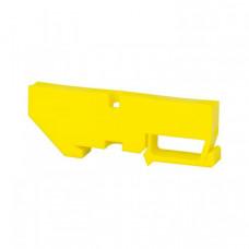 Изолятор на DIN-рейку желтый EKF PROxima | ak-1-4-y | EKF