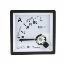 Амперметр AM-A721 аналоговый на панель 72х72 (квадратный вырез)400А трансформаторное подключение EKF PROxima   am-a721-400   EKF