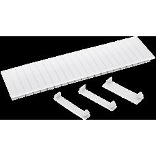 Заглушка 12 модулей белая | YZM10-12-K01 | IEK