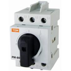 Рубильник модульный РМ-80 3П 80A   SQ0222-0006   TDM