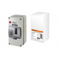 Бокс КМПнИ-4, с индикатором, блокировкой, герметичными вводами, 200х100х110 мм, IP66 | SQ0908-0201 | TDM