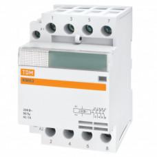 Контактор модульный КМ63/4-40 3НО;1НЗ   SQ0213-0019   TDM