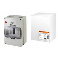 Бокс КМПнИ-8, с индикатором, блокировкой, герметичными вводами, 200х200х110 мм, IP66 | SQ0908-0202 | TDM