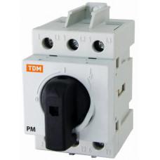Рубильник модульный РМ-125 3П 125A   SQ0222-0008   TDM