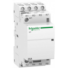 МОДУЛЬНЫЙ КОНТАКТОР iCT25A 4НЗ 24В АС 50ГЦ | A9C20137 | Schneider Electric
