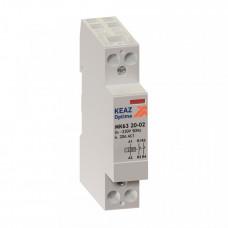 Контактор модульный OptiDin МК63-2020-230AC | 114090 | КЭАЗ