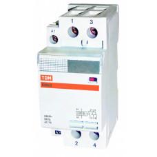 Контактор модульный КМ63/2-63 2НО   SQ0213-0005   TDM