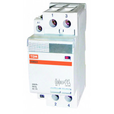 Контактор модульный КМ63/2-40 1НО;1НЗ   SQ0213-0009   TDM