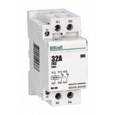 Модульный контактор 2НЗ 40А 230В МК-103 | 18080DEK | DEKraft