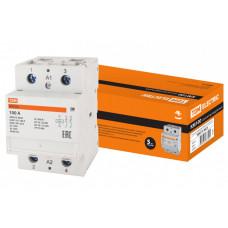 Контактор модульный КМ100/2-100 2НО   SQ0213-0025   TDM