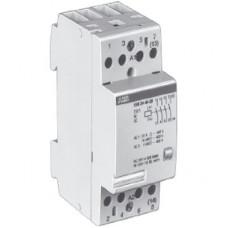 Модульный контактор ESB-24-40 (24А AC1) катушка 400B AC/DC   GHE3291102R0007   ABB