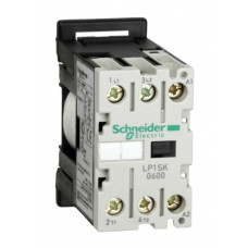 КОНТАКТОР МИНИ SK 2P AC3 3P, 6А, 12V DС, | LP1SK0600JD | Schneider Electric