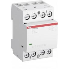 Контактор ESB40-40N-07 модульный (40А АС-1, 4НО), катушка 400В AC/DC   1SAE341111R0740   ABB