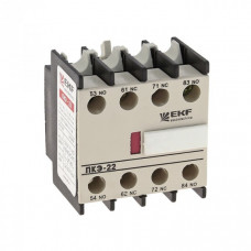 Приставка контактная ПКЭ-22 2NO+2NC EKF PROxima   ctr-sc-25   EKF