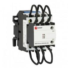 Контактор для конденсатора КМЭК 50квар 230В 2NО+1NC EKF PROxima | ctrk-s-110-50-230 | EKF