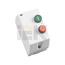 Контактор КМИ11260 12А в оболочке Ue=220В/АС3 IP54 | KKM16-012-220-00 | IEK